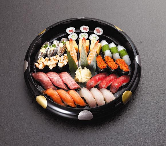 お通夜料理-お寿司-3人前