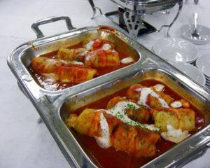 ロールキャベツのトマトソース