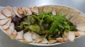 鶏胸肉のメスクラン